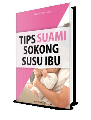 Tips Suami Sokong Susu Ibu
