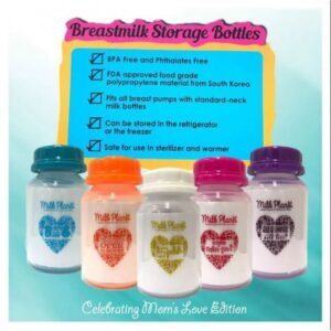 Milk Planet Breastmilk Storage Bottles