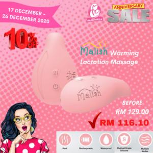 Warming Lactation Massager Malish