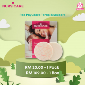 Pad Payudara Terapi Nursicare ( 1 Keping Sahaja )